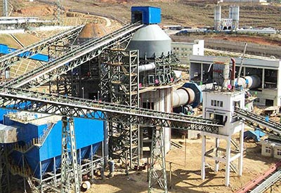 Cement making production line