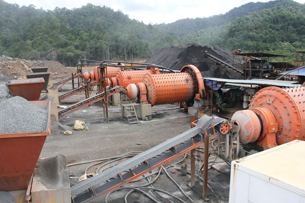 Ore separating line